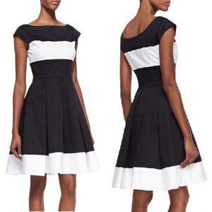 Kate Spade Adette Cap Sleeves Pleated Dress